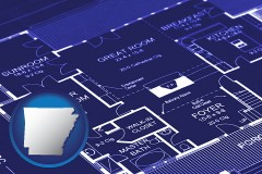 ar a house floor plan blueprint
